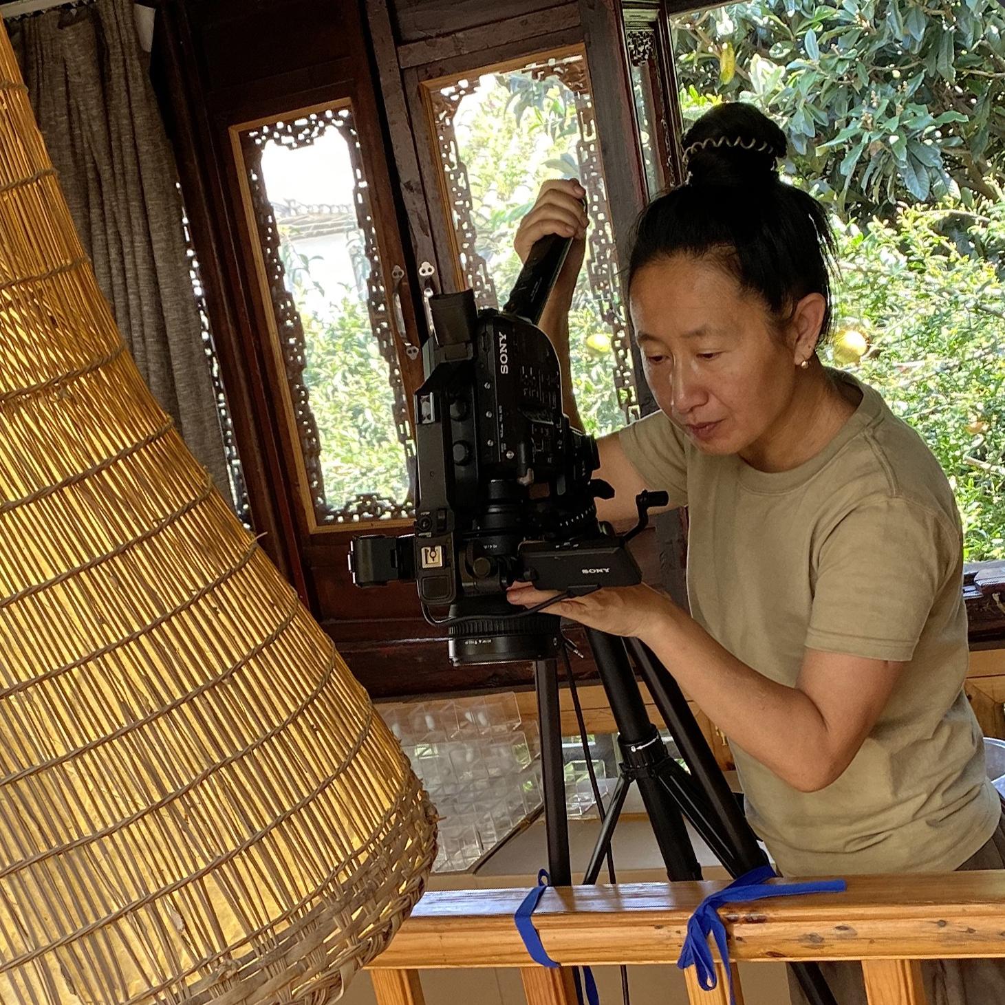 Portrait of artist Zhao Rongjie