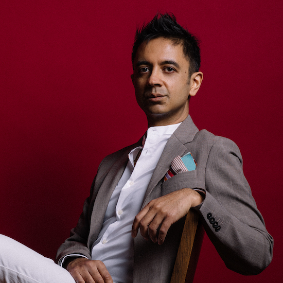 Portrait of Vijay Iyer